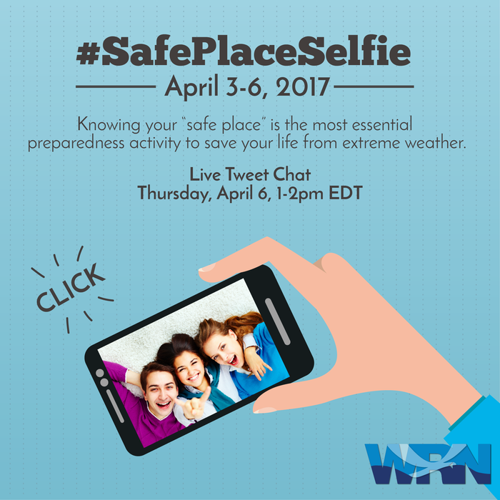 Safe Place Selfie - Save the Date!