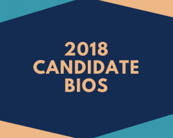 2018 Candidate Biographies Posted
