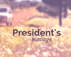 Monthly President's Message