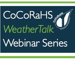 CoCoRaHS WxTalk Webinar Series