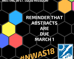 Abstracts Due March 1