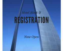 Annual Meeting Registration & Hotel Block Open