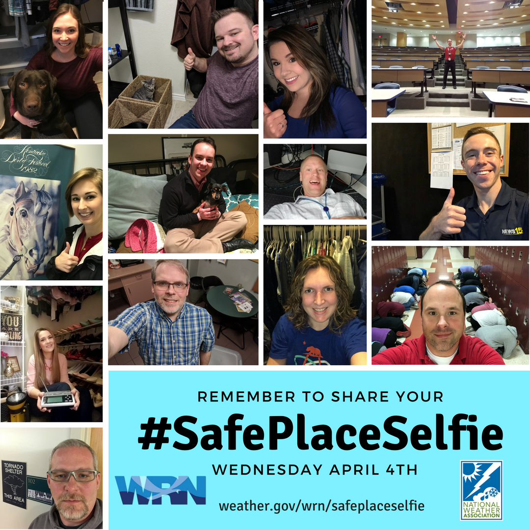 Join us in sharing your #SafePlaceSelfies Wednesday April 4th!