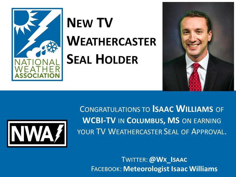 tvseal_isaac_williams - National Weather Association