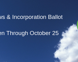 Voting Open for Proposed Bylaws & Incorporation Until Oct. 25