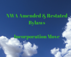 NWA Amended and Restated Bylaws