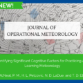 Identifying Significant Cognitive Factors for Practicing and Learning Meteorology
