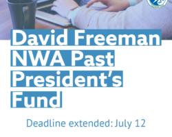 2019 David Freeman NWA Past President's Fund