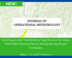 JOM: Techniques and Thresholds of Significance for Using WSR-88D Velocity Data to Anticipate Significant Tornadoes