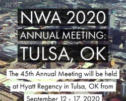 2020 Annual Meeting Location: Tulsa, OK