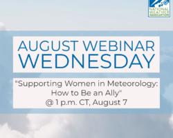 ATTN: August Webinar Wednesday has been postponed
