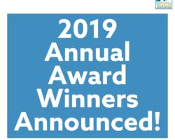 2019 Annual Award Winners Announced