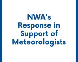 NWA's Response in Support of Meteorologists
