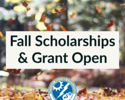 Fall Scholarships & Grant Now Open