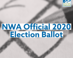 National Weather Association Official 2020 Election Ballot