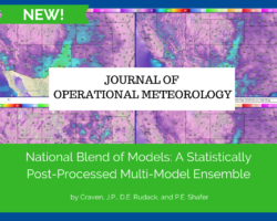 JOM: National Blend of Models: A Statistically Post-Processed Multi-Model Ensemble