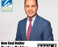 New Seal Holder: Carlos Robles
