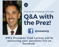 Monday, 2/24: Live Q&A with President Todd Lericos