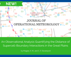 JOM: An Observational Analysis Quantifying the Distance of Supercell-Boundary Interactions in the Great Plains