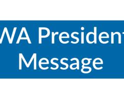 April President's Message