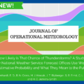 JOM: How Likely is That Chance of Thunderstorms? A Study of How National Weather Service Forecast Offices Use Words of Estimative Probability and What They Mean to the Public