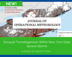 JOM: Delayed Tornadogenesis Within New York State Severe Storms