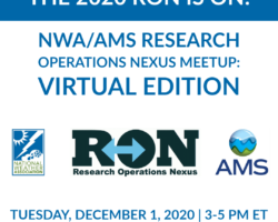 NWA/AMS Research Operations Nexus: Virtual Edition – Now Free!